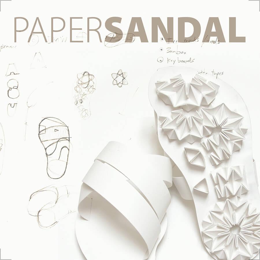 Paper Sandle